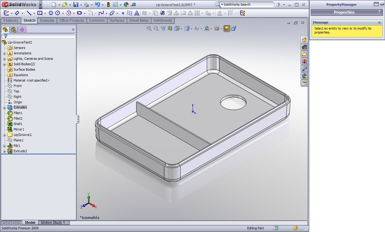 Solidworks How To Build Using Square Bar