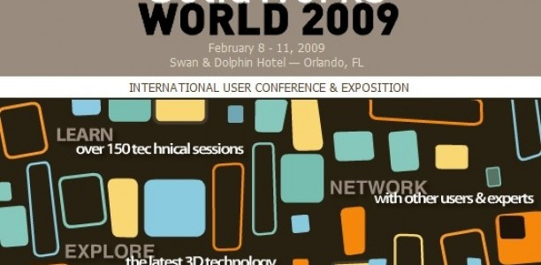 SolidWorks World 2009 Website is LIVE!