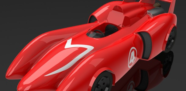 Download and RENDER The Mach 4 Racer!