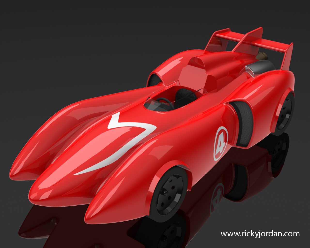 download and render the mach 4 racer! | ricky jordan's blog