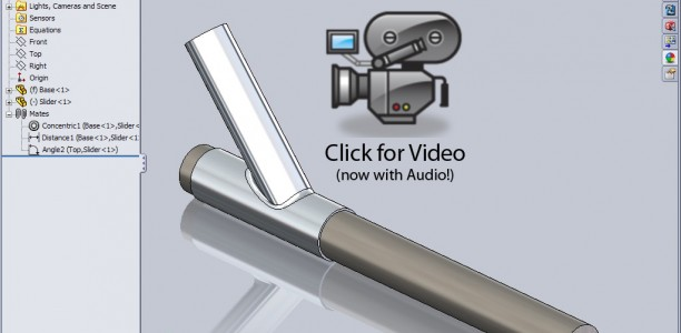 SolidWorks Video Tip: Using Mates for Animation