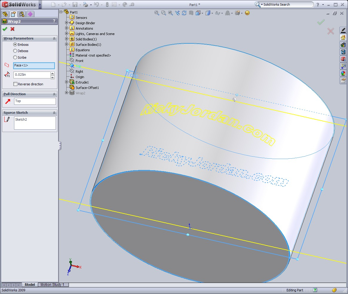 The SolidWorks Secret Weapon: The Wrap Tool | Ricky Jordan's Blog