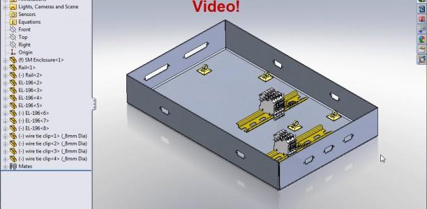 SolidWorks Electrical Routing &#8211; Part 1