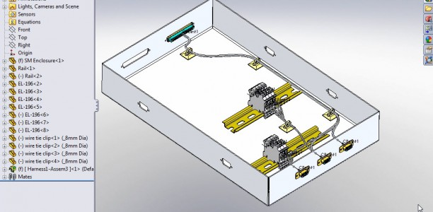 SolidWorks Electrical Routing – Part 2