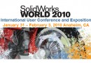 Arrival at SolidWorks World 2010