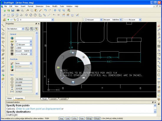Draftsight free 2d for all ricky jordan 39 s blog for Online cad editor