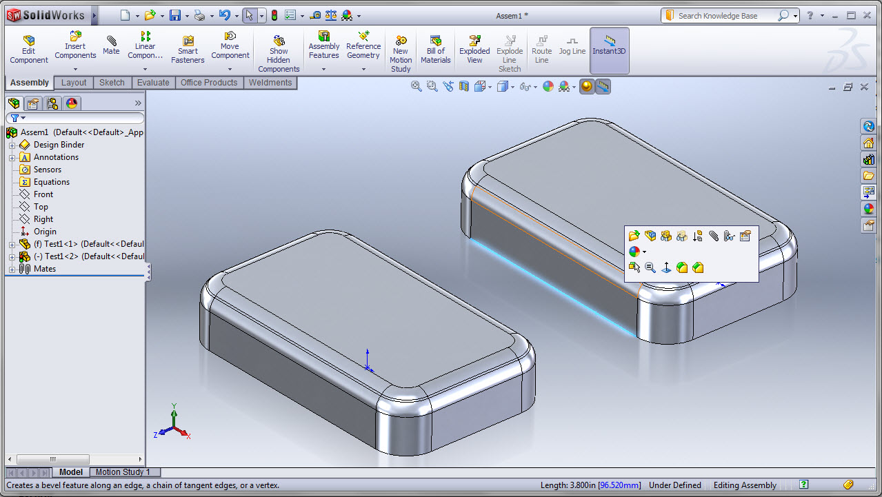 Solidworks 2011 User Interface Enhancements Ricky