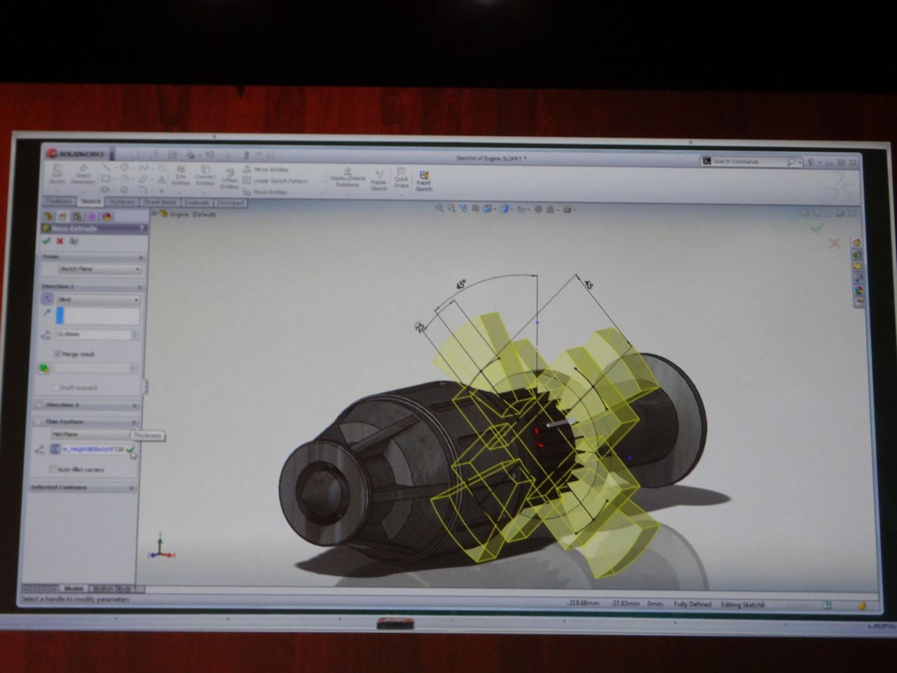 Drawing Angled Lines In Draftsight : Solidworks sneak peek ricky jordan s