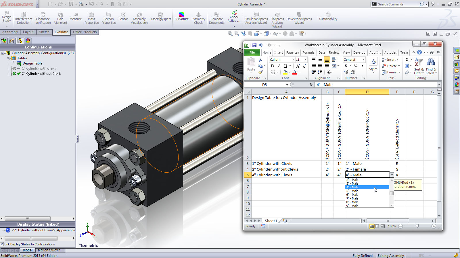 Solidworks 2013 announced ricky jordan 39 s blog for Design table not working solidworks