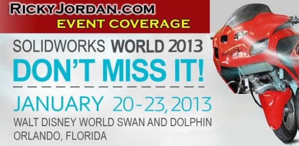 SolidWorks World 2013 – Sunday