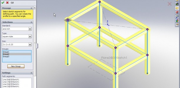 SolidWorks 2009: Weldments