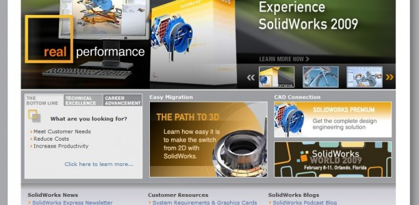 Snazzy New SolidWorks.com